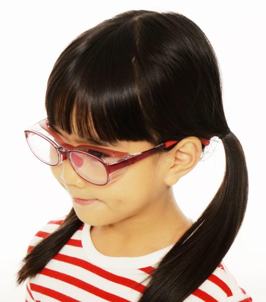用 メガネ 子供 花粉 症